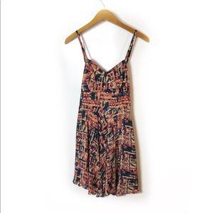 Revolve Joie silk cutout dress Sz XS